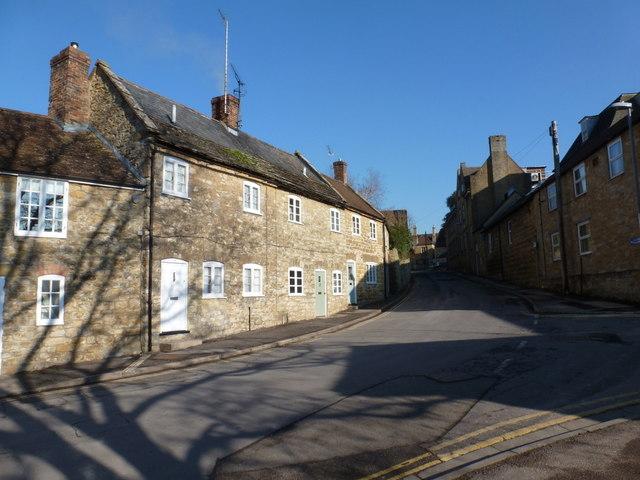 Sherborne: Back Lane
