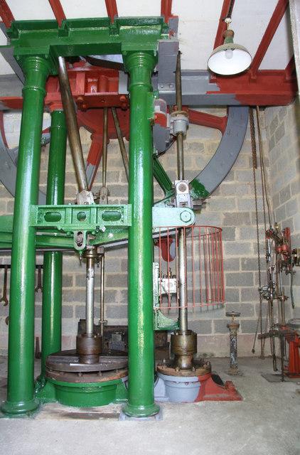 Elizabeth - stationary steam engine, Wortley Top Forge