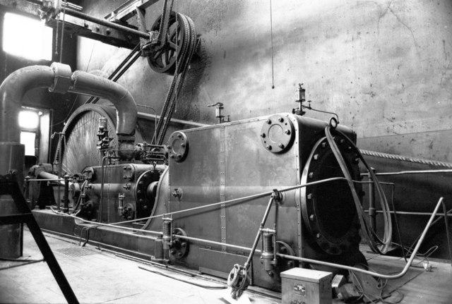 Steam engine, Syke Mills, Haslingden