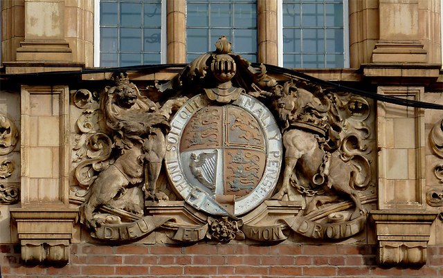 Coat of Arms on Wolverhampton Central Library