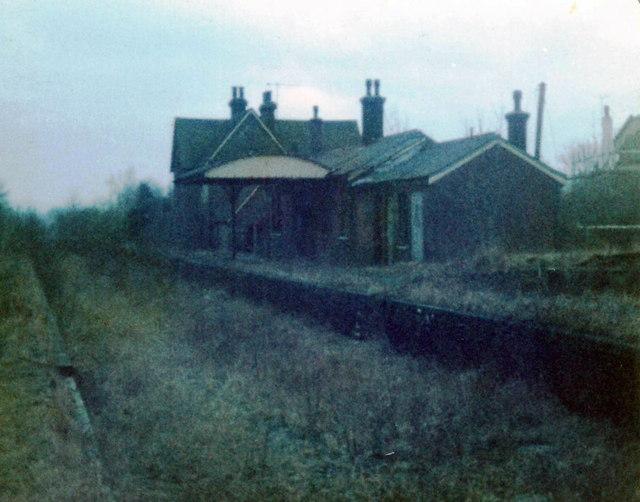 Isfield Railway Station - 1982
