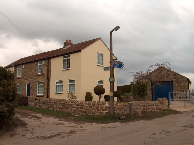 North end of the hamlet of Woodall