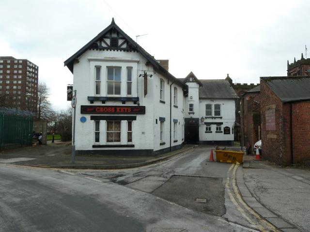 Cross Keys, Church Road, Eccles