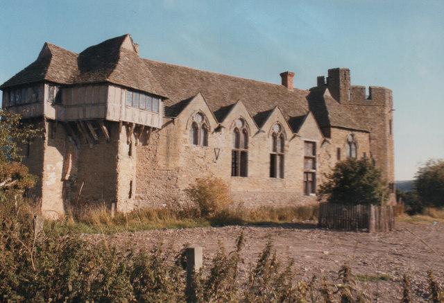 Stokesay Castle 1986