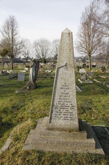 Obelisk in the Cemetery