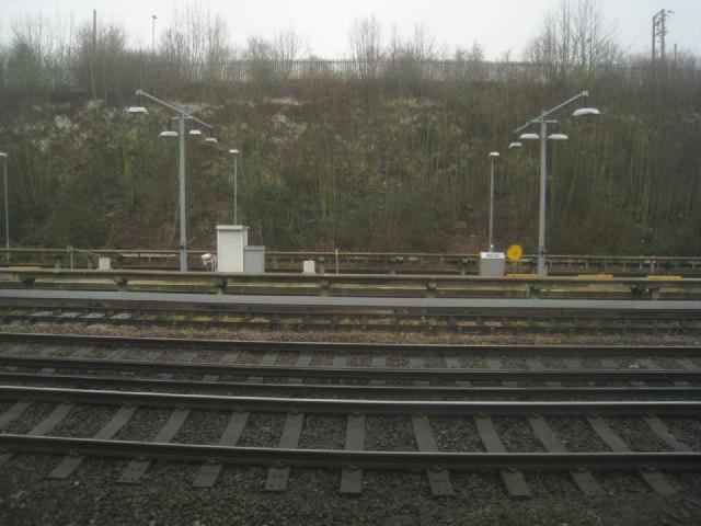Sidings east of Basingstoke station