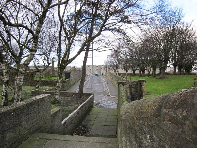 Lane at Cemetery