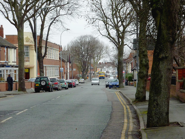 Mount Pleasant in Bilston, Wolverhampton