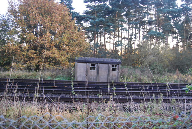 Possible platelayer's hut by the Ashford to Ramsgate Line