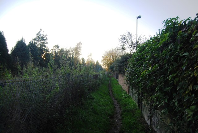 Between the houses and the railway (2)