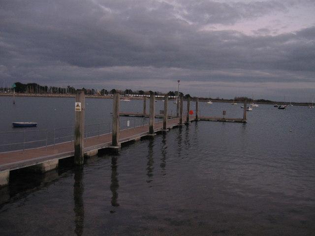 Emsworth, pontoon