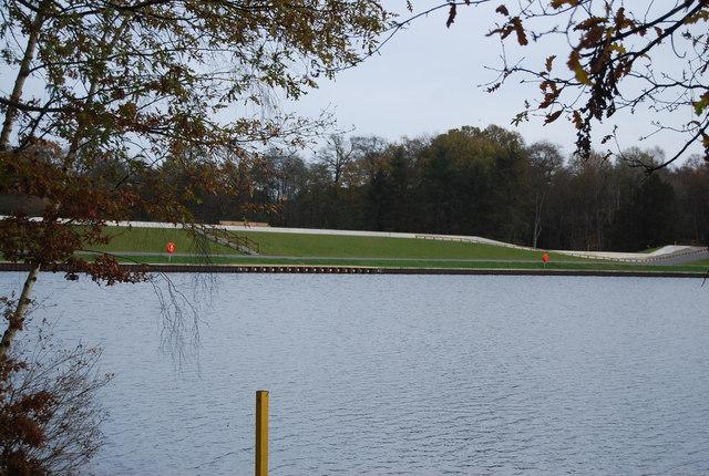 Dam, Tilgate Lake