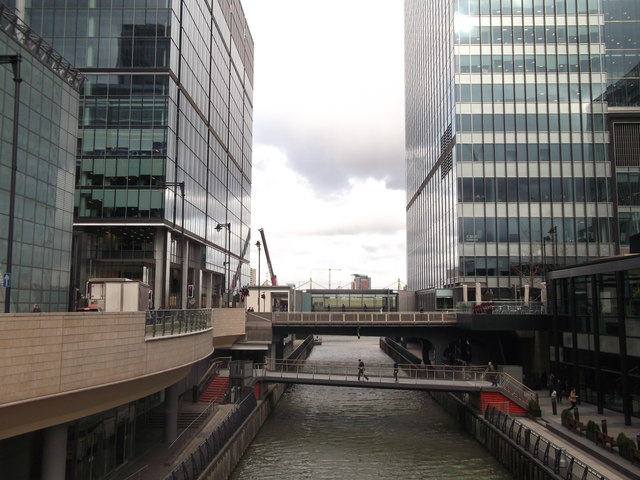North Colonnade Bridge, Canary Wharf