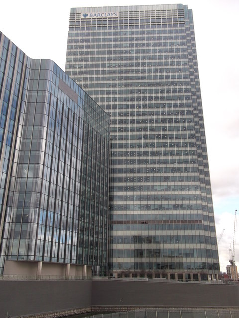 Barclays Building, Churchill Place, Canary Wharf