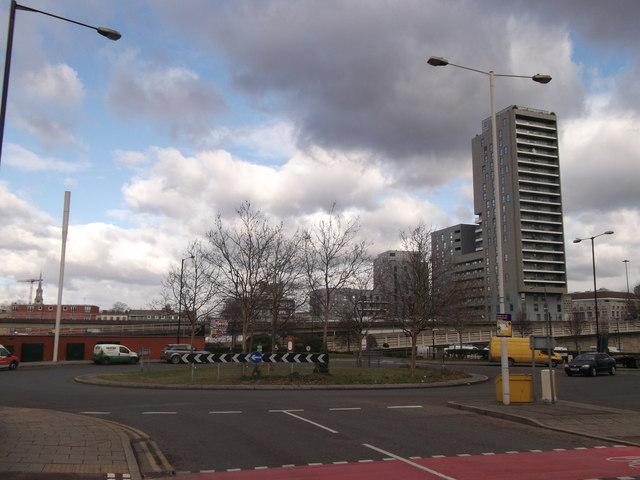 Trafalgar Way roundabout