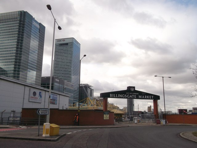 Entrance to Billingsgate Market