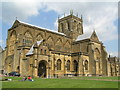 ST6316 : Sherborne Abbey by Martin Brown