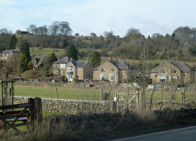 Houses near Stoney Middleton