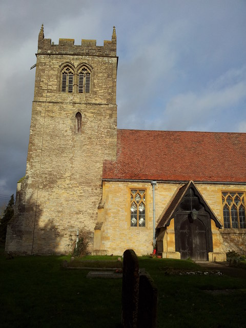 Entrance & Tower to St John the Baptist Church, Aston Cantlow