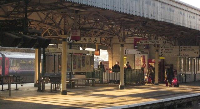 Platform 10, Bristol Temple Meads