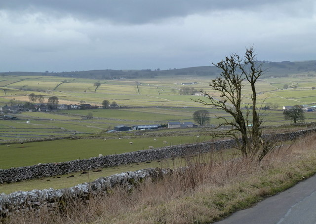 Open countryside near Wardlow