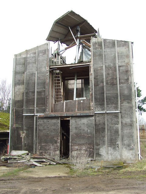 Damaged Farm Building