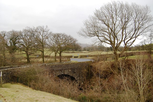 Straight Bridge over the River Rauthey