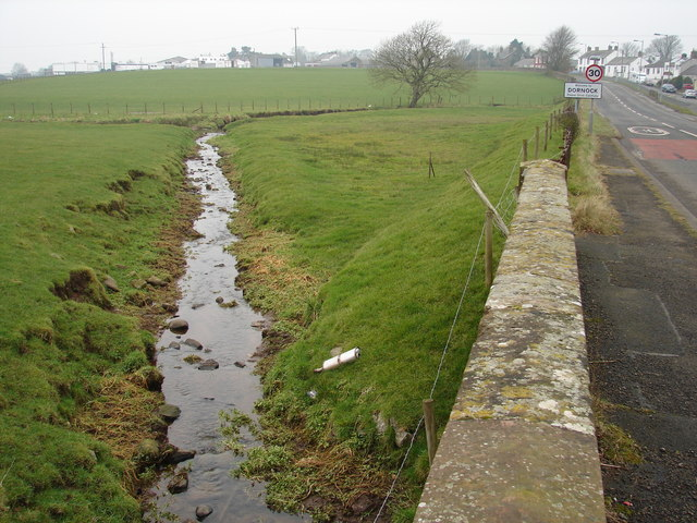 Stream outside Dornock
