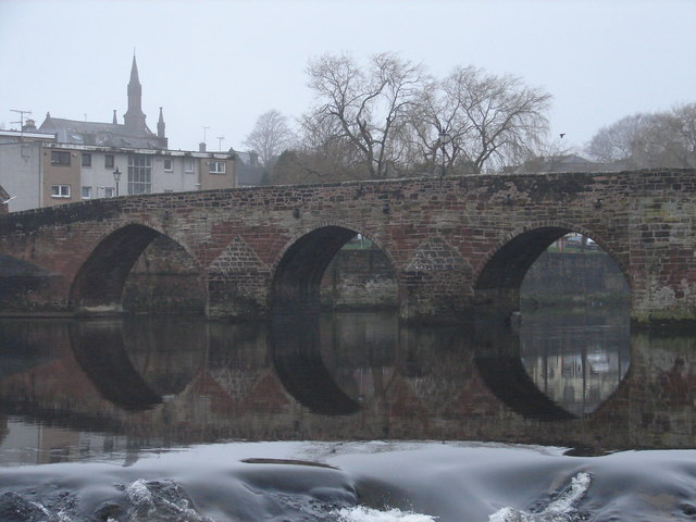 Old Bridge at the River Nith