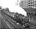 TQ2775 : Victoria - Tunbridge Wells West train (steam-hauled) leaving Clapham Junction. by Ben Brooksbank