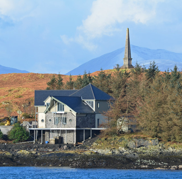 New house on Kerrera