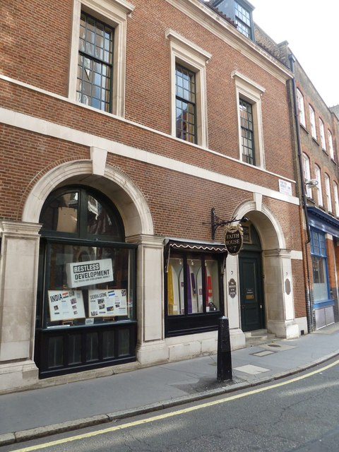 Faith House No.7, Tufton Street