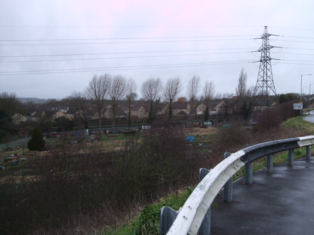 View from Akers Roundabout, Moredon