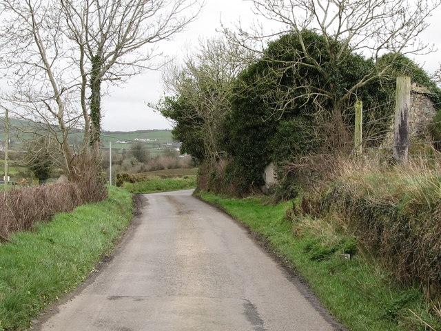 Desert Road approaching the junction with Crossan Road