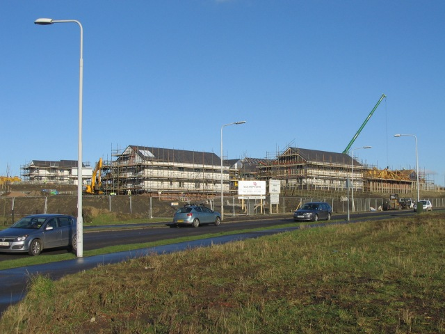 New Housing Under Construction