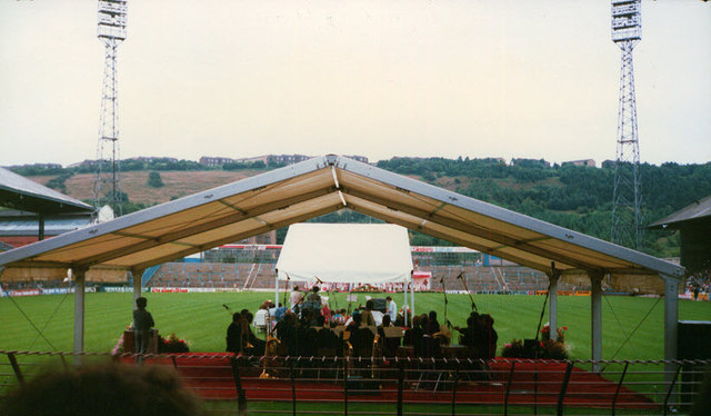 The old Huddersfield Town ground