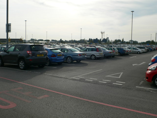 Long stay car park for Manchester Airport
