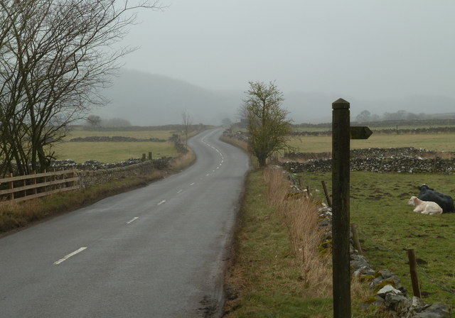 Road to Eyam from Foolow