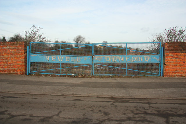 Site of Newell Dunford