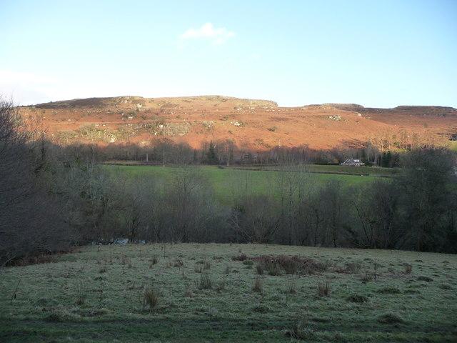 Aberedw Rocks on a February afternoon