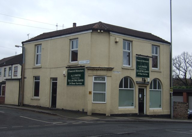 Funeral Directors, Greasbrough