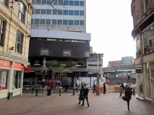 New Street Station From Lower Temple Street