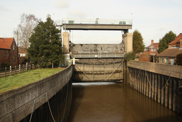River Idle sluice