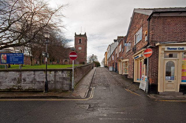 Church Hill, Knutsford