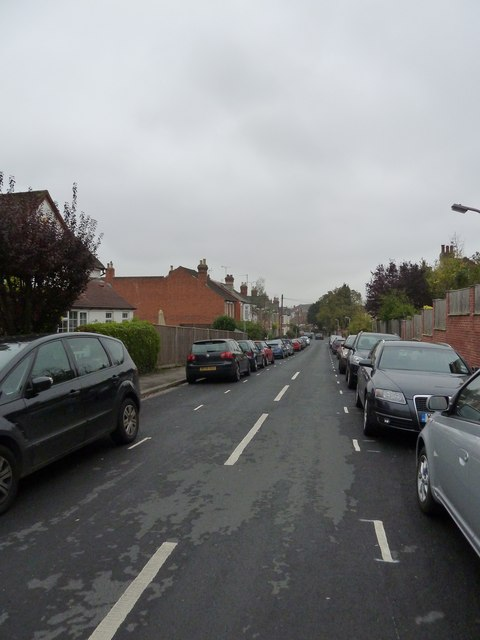 Looking from Priest Hill into Priory Avenue