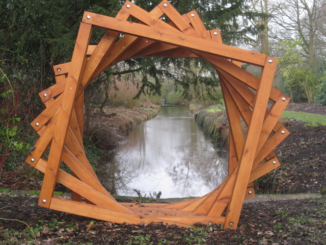 Wooden sculpture Dunham Massey