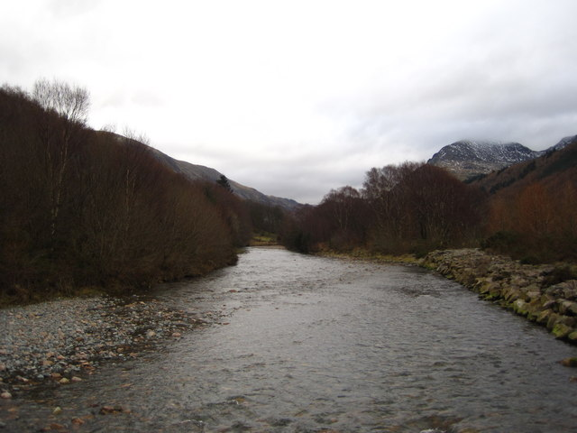 Char Dub, looking upstream