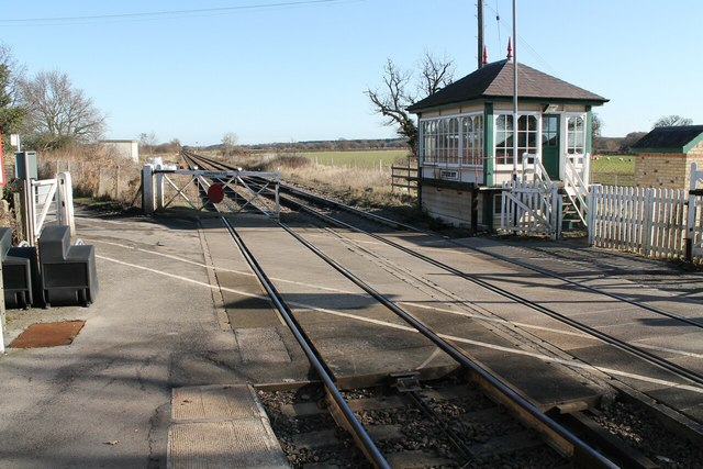 Swinderby Manual Level Crossing and Signal Box