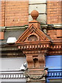 SO9198 : Decorative terracotta on 23-27 Lichfield Street by Alan Murray-Rust