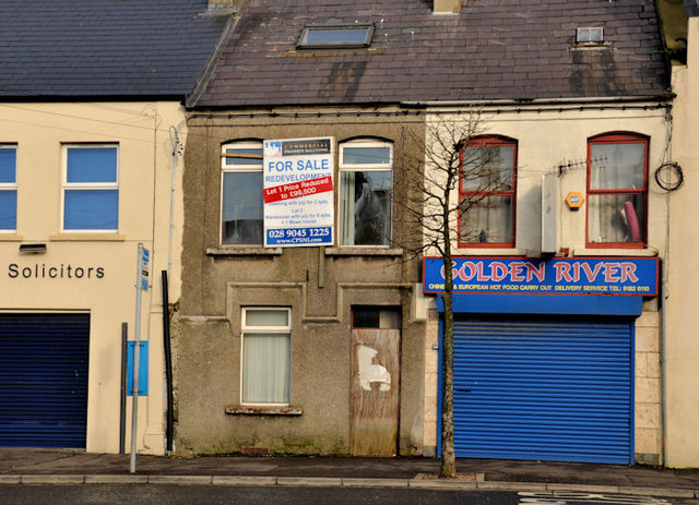 No 138 Frances Street, Newtownards